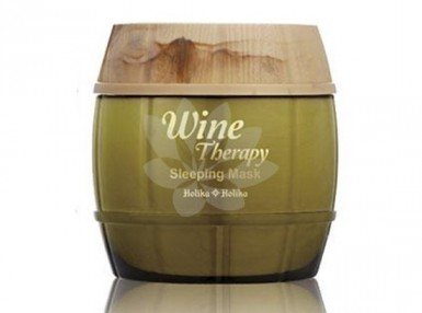Holika Holika Wine Therapy Sleeping Mask - White Wine
