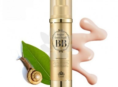 Lioele Super Gold Snail BB SPF50PA+++ kolor 21 Natural Beige