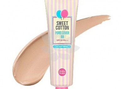 Holika Holika Sweet Cotton Pore Cover BB 01