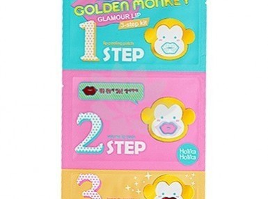 Holika Holika Golden Monkey Glamour Lip 3step Kit
