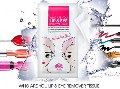 Lioele Who Are You Lip & Eye Remover Tissue