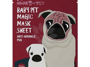 Holika Holika Baby Pet Magic Mask Sheet(Pug)