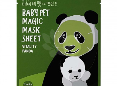 Holika Holika Baby Pet Magic Mask Sheet(Panda)