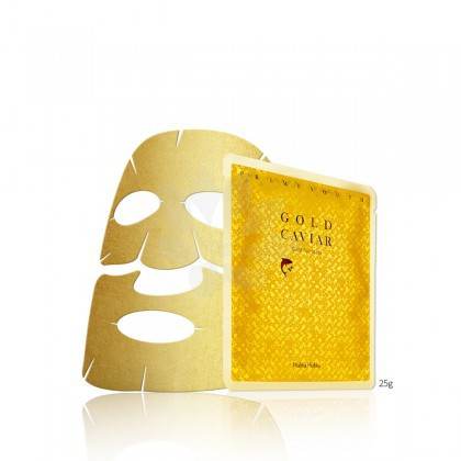 Holika Holika Prime Youth Gold Caviar Gold Foil Mask