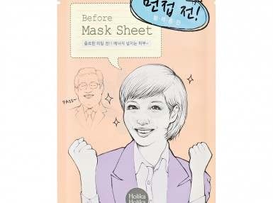 Holika Holika Before Mask Sheet - Interview