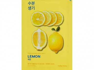 Holika Holika Pure Essence Mask Sheet-Lemon