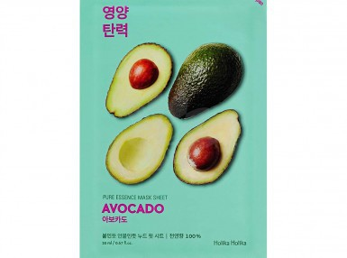 Holika Holika Pure Essence Mask Sheet-Avocado