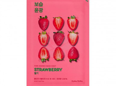Holika Holika Pure Essence Mask Sheet - Strawberry