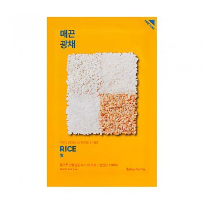 Holika Holika Pure Essence Mask Sheet- Rice