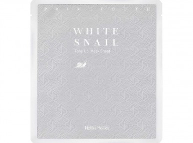 Holika Holika Prime Youth White Snail Tone-up Mask