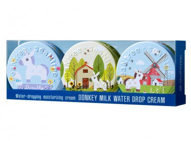 seaNtree Donkey Milk Water Drop Cream 3 in 1 Set
