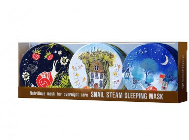 seaNtree Snail Steam Sleeping Mask 3 in 1 set