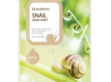 seaNtree Snail Mask Sheet
