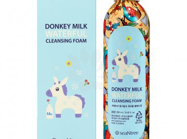 seaNtree Donkey Milk Waterful Cleansing Foam