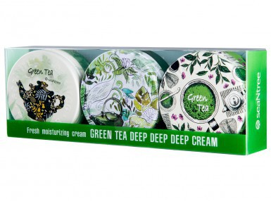 SeaNTree GREEN TEA DEEP DEEP DEEP CREAM (3x35 ml)