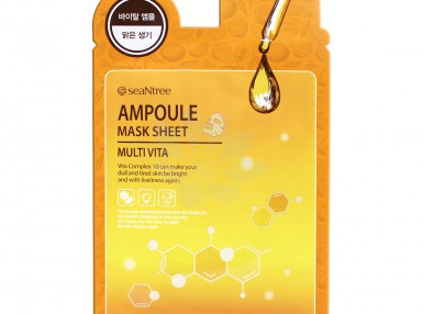 SeaNtree Multi Vita Ampoule Mask Sheet