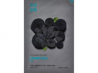 Holika Holika Pure Essence Mask Sheet - Charcoal