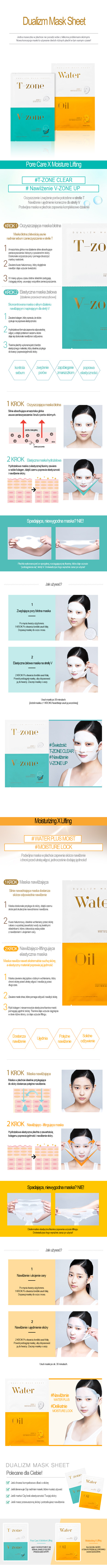 Dualizm Mask Sheet