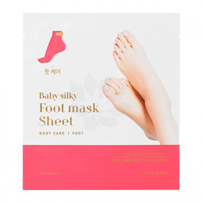 Regenerująca maseczka do stóp Holika Holika Baby Silky Foot Mask Sheet