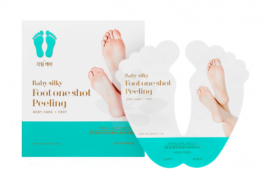 Peeling do stóp w formie skarpet Holika Holika Baby Silky Foot One Shot Peeling