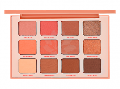 Holika Holika Piece Matching Shadow Palette, 01 Mature Peach